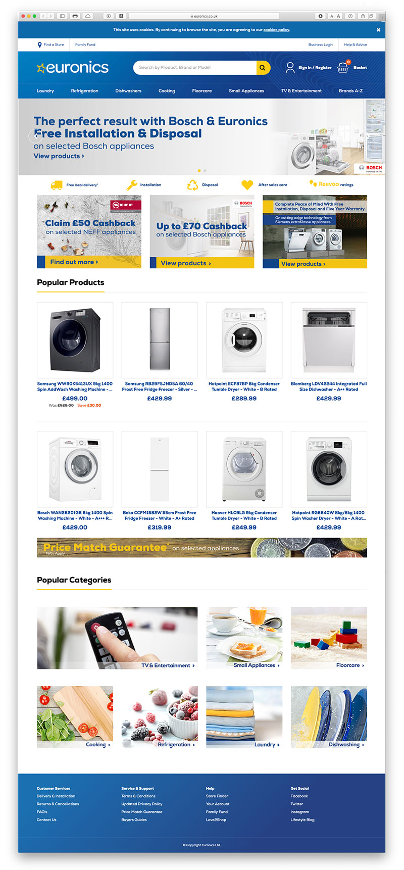 Visit Euronics Website
